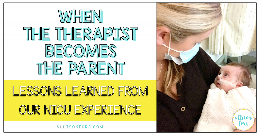 NICU EXPERIENCE PARENT PERSPECTIVE SLP