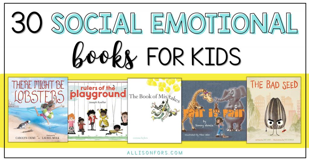 social emotional books