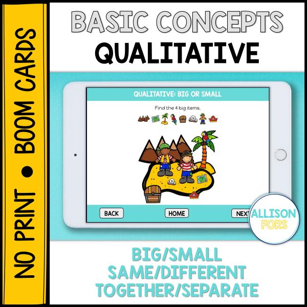 Qualitative concepts