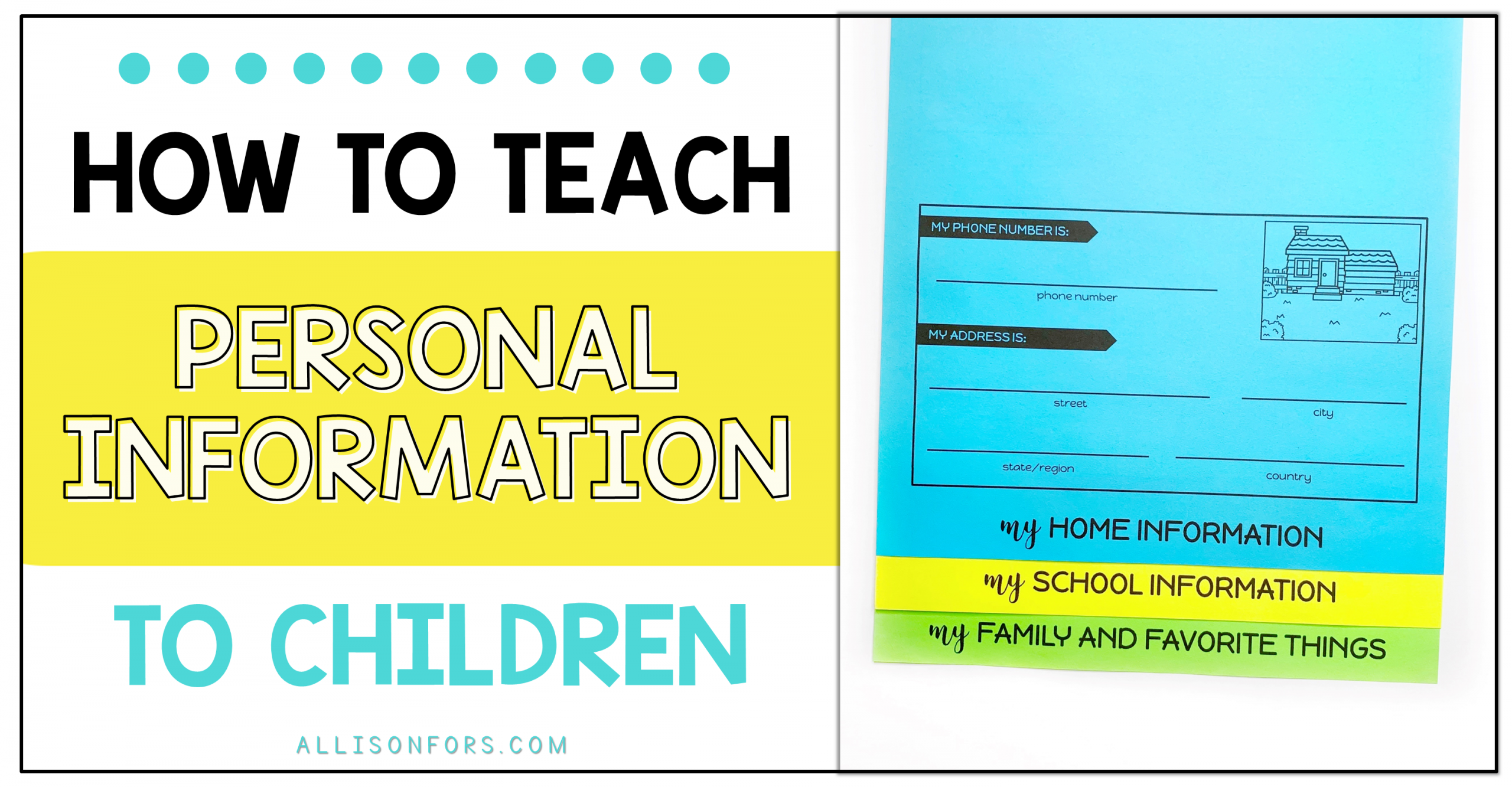 How to Teach Personal Information to Children