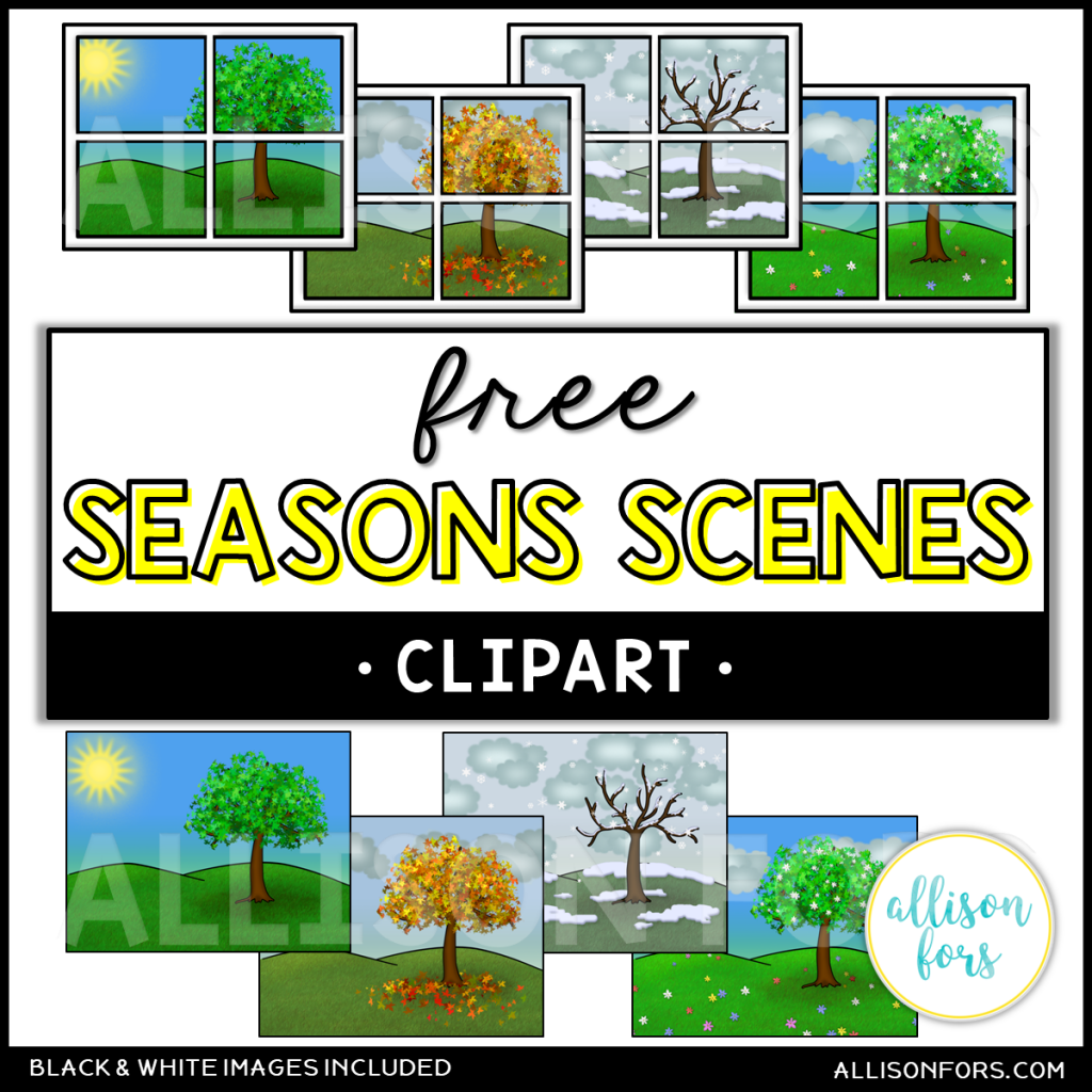 free seasons clipart