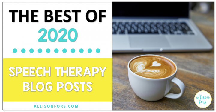 The 5 Best Speech Therapy Blog Posts of 2020