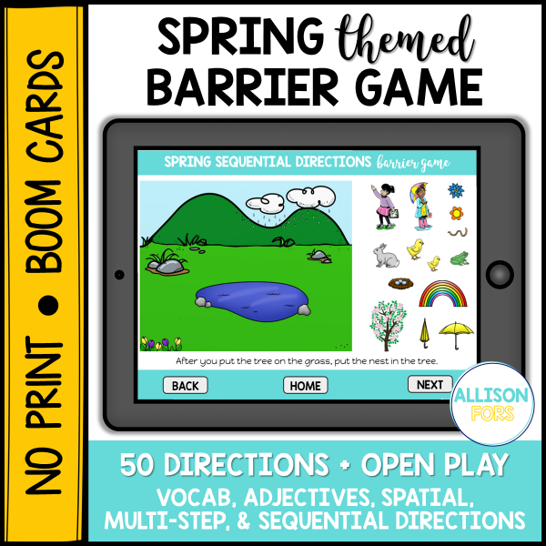 spring digital barrier game