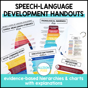 speech therapy development