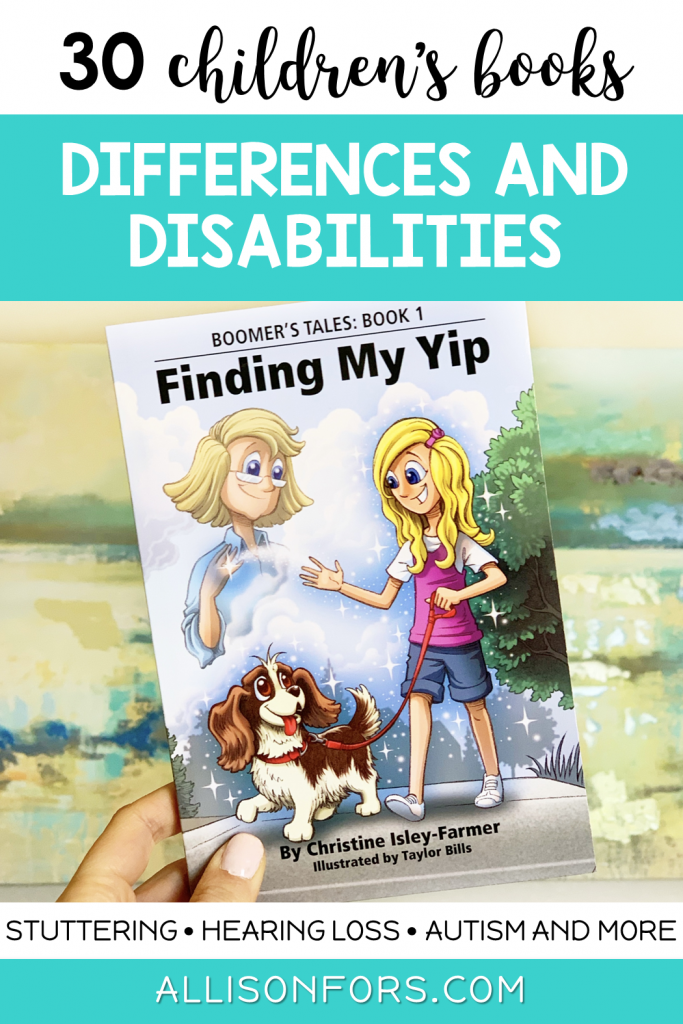 disabilites and differences children's books