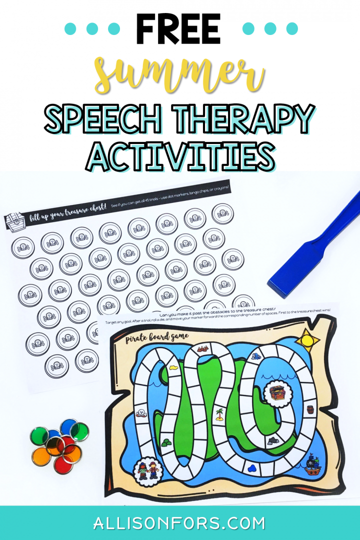 free summer speech therapy