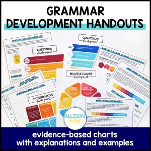 grammar charts