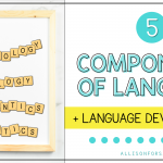 The 5 Components and Development of Language