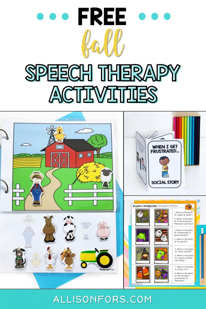 fall speech therapy free